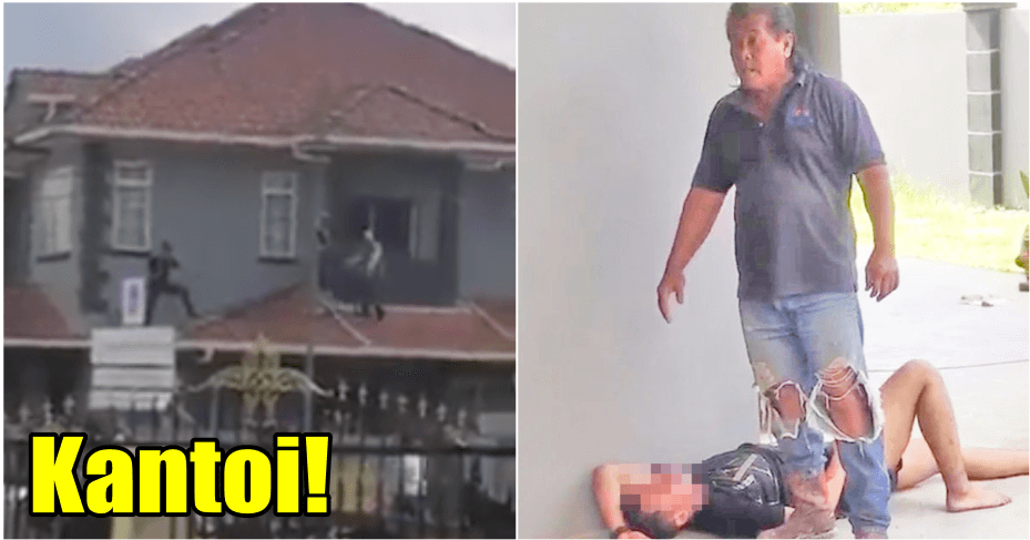 Video: Burglar Kantoi And Got Beaten By Angry Residents In Sarawak - WORLD OF BUZZ