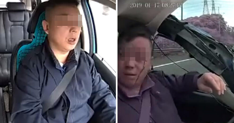 Video Of Ride-Hailing Driver Causing Horrific Accident Shows Dangers Of Falling Asleep at The Wheel - WORLD OF BUZZ 3