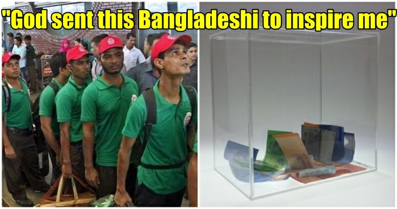 Viral Tweet on Bangladeshi Donating RM50 at Mosque touches M'sian's Hearts - WORLD OF BUZZ