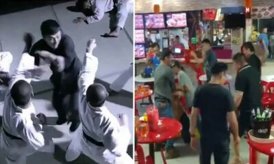 Watch this Ip-Man Guy Attempt To Solo 8 Uncles In Epic Kopitiam Fight - WORLD OF BUZZ
