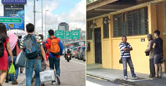 Young M'sian Who Travels Daily To S'pore For Work Faints A - World Of Buzz