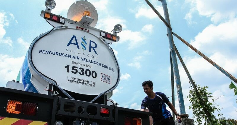 51 Areas in Selangor Experiences Water Disruption Due to Electricity - WORLD OF BUZZ