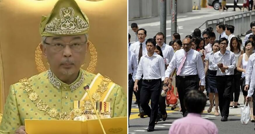 Agong Urges Citizens To Trust That The Gov't Is Doing Its Best To Reduce The Cost Of Living - World Of Buzz 1