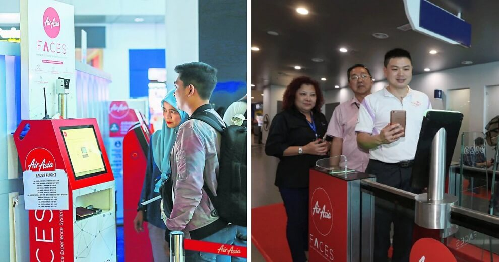 AirAsia Will Be Rolling Out Face Recognition System For Flight Boarding in Malaysia This Year - WORLD OF BUZZ 5