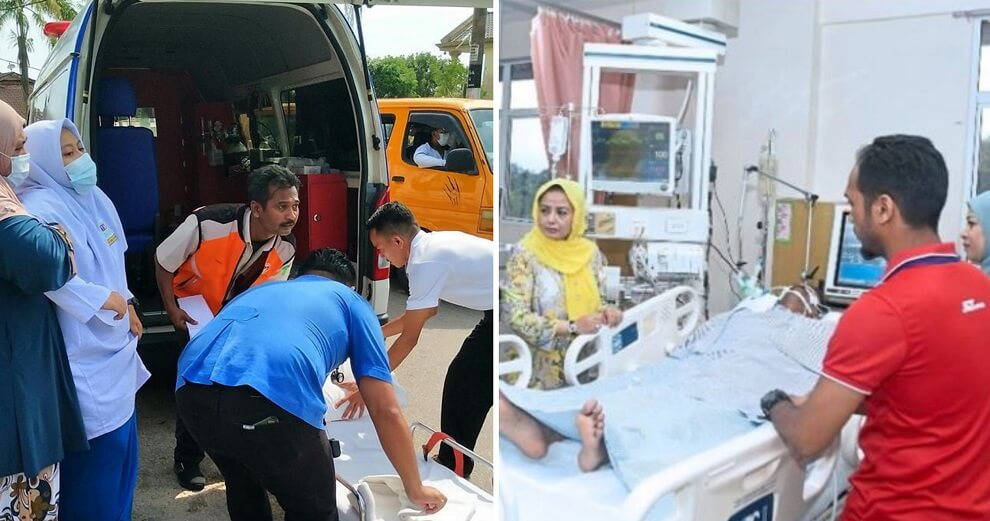 Ambulance Driver In Icu After Saving More Than 30 Sick School Kids In Pasir Gudang, Hailed A Hero - World Of Buzz 2