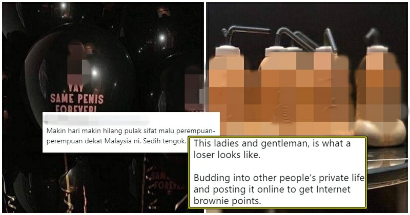 Bawang Army Works Overtime And Attacks Penis-Themed Bachelorette Party - World Of Buzz 1
