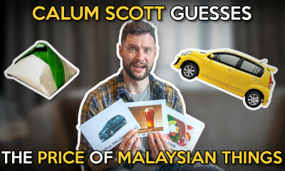 Calum Scott Guesses The Price of Malaysian Things - WORLD OF BUZZ