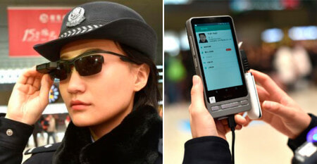 Chinese Policemen Now Wearing Facial Recognition Glasses To Catch Wanted Criminals World Of Buzz