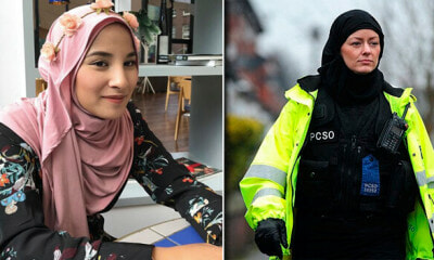 Did You Know That Hijabs Worn By British Police Force Is Actually Designed By A Malaysian? - WORLD OF BUZZ 1