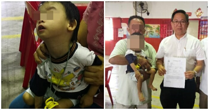 Father of 2yo M'sian Boy with Down Syndrome Won't Take Him Back After Letting a Nanny Care for Him For a Year - WORLD OF BUZZ