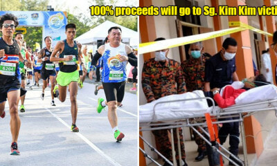 From Just RM38, You Can Join This 5K Run From ANYWHERE in M'sia AND Donate to the Sg. Kim Kim Victims - WORLD OF BUZZ