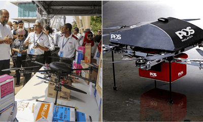Gobind: Drones Will Be Used Commercially In The Postal And Courier Within Five Years - WORLD OF BUZZ 3
