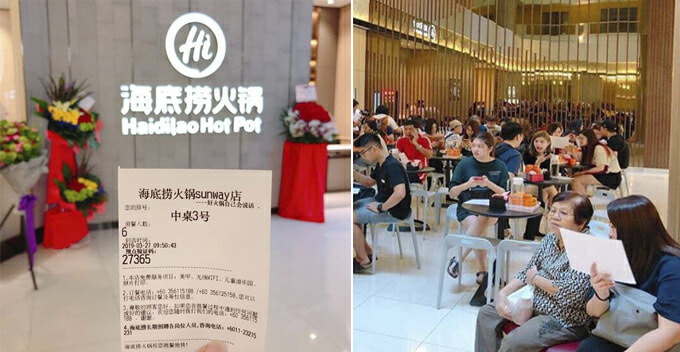 Hai Di Lao Hot Pot Restaurant Is Opening In Sunway Pyramid Today And The Queue Is Massive! - WORLD OF BUZZ