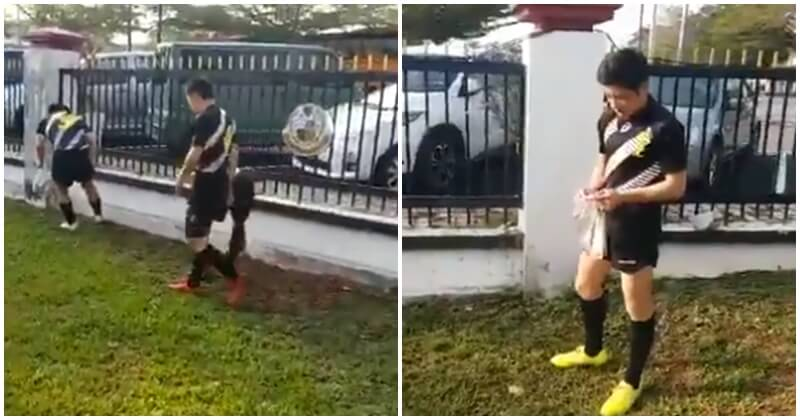 Japanese Rugby Team Shows Up Malaysians By Picking Up Discarded Cigarette Butts At Rugby Tournament - WORLD OF BUZZ 4