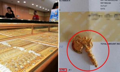 Jeweller Caught Selling Same Pendant For RM1,000 Less At Genting Highlands - WORLD OF BUZZ
