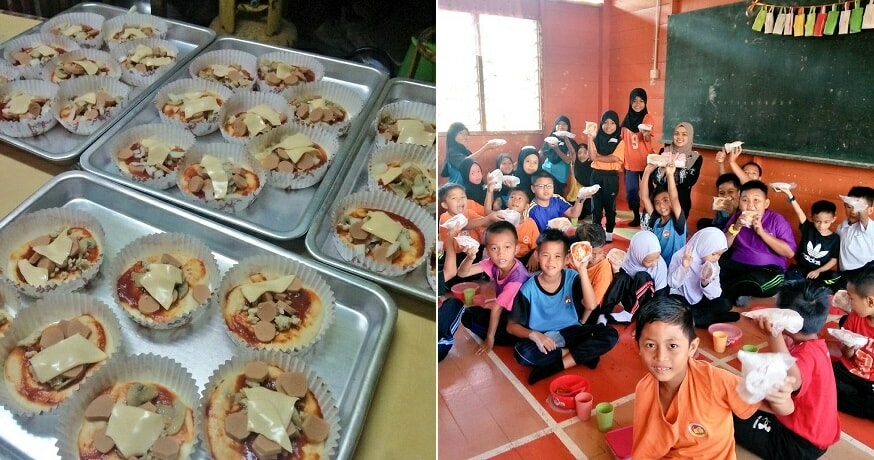 Kind M'sian Teacher Bakes 32 Pizzas for Her Students Because They've Never Tried it Before - WORLD OF BUZZ