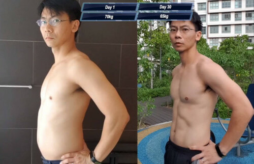 Man Completely Transforms His Body After Trying the One Punch Man Workout Challenge for 30 Days - WORLD OF BUZZ 1