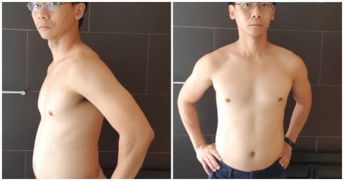 Man Completely Transforms His Body After Trying the One Punch Man Workout Challenge for 30 Days - WORLD OF BUZZ
