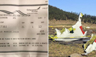Man Narrowly Escapes Death After He Was Running 2 Minutes Late to Ethiopian Airlines Flight - WORLD OF BUZZ 4