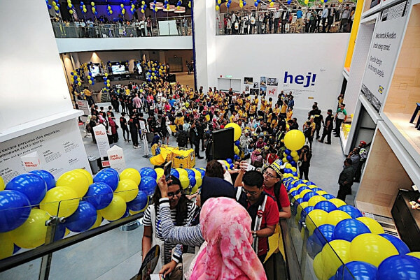 Man Shares Disappointment As Ikea Penang's Showrooms Wrecked By Some Malaysians - World Of Buzz