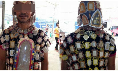Man Who Wears Religious Amulets Like An Armour Takes Them Off For a Day, Gets Hit by Car and Dies - WORLD OF BUZZ 2