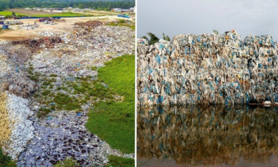 "Massive Illegal Plastic Landfill Found In Penang With ""6 Football Fields"" Worth Of Trash Piled Two Stories High - WORLD OF BUZZ 3"