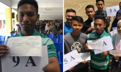 M'sian Student Didn't Let His Deformed Hand Stop Him, Scores 9As In SPM - WORLD OF BUZZ