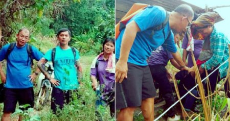 M'sian Teachers Walk 12km Just To Encourage A Student To Come Back To School - WORLD OF BUZZ 2