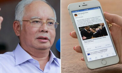 "Najib: ""Govt is Limiting Free Speech by Considering Action Against News Portals Over Readers' Comments"" - WORLD OF BUZZ"