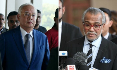 Najib's Lawyer Pleaded To Postpone Trials to Friday Because His Dog Broke His Wrist - WORLD OF BUZZ