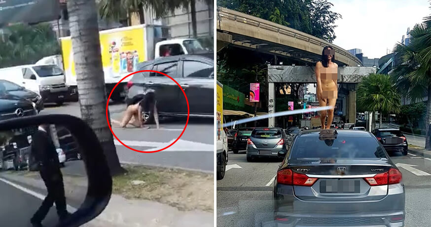Naked Transgender Spotted Running And Dancing On The Busy Streets Of Bukit Bintang - World Of Buzz 2