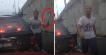 Netizen Shares Experience Of Almost Being Run Over By A Truck - World Of Buzz 5