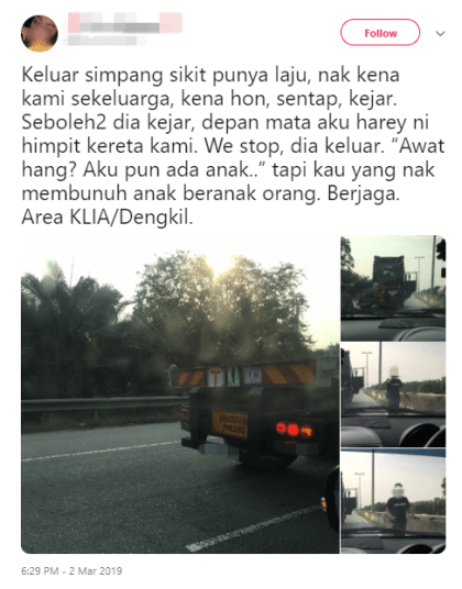 Netizen Shares Experience Of Almost Being Run Over By A Truck - World Of Buzz