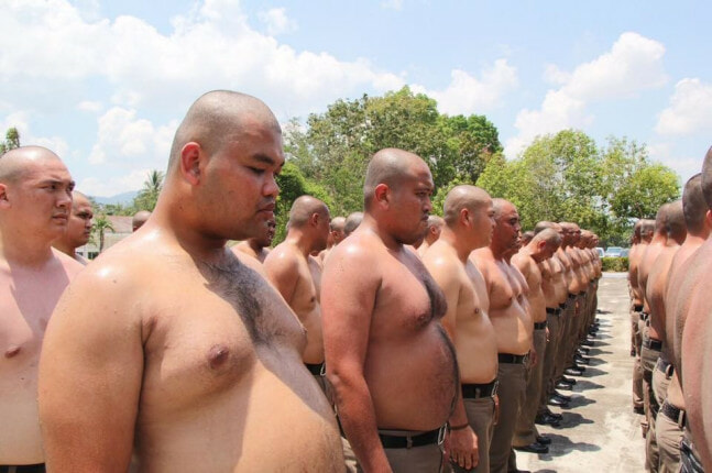 Obese Police Are Sent to Fat Camp So That They Can Lose Weight - WORLD OF BUZZ 1