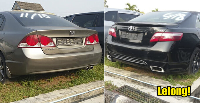 Penang JPJ Is Auctioning Off 92 Cars And The Cheapest One Starts From Only RM700 - WORLD OF BUZZ