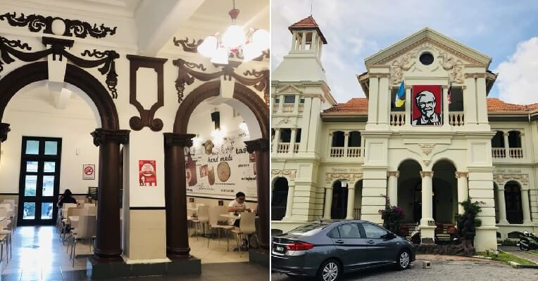 Penang's Oldest & Most Unique KFC Outlet Housed in a British Colonial Building Closing Down on March 16 - WORLD OF BUZZ 8
