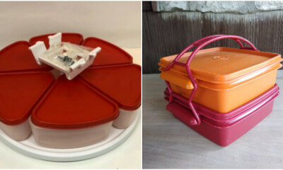 People Are Actually Selling Their Old Tupperware Sets for Hundreds of Ringgits Online! - WORLD OF BUZZ