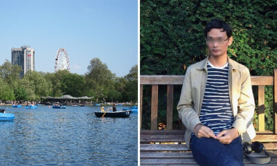 Report: Body of M'sian Student Found in Lake of London's Hyde Park, Cause of Death Unexplained - WORLD OF BUZZ 2