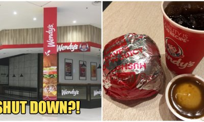 Rumour Says That Wendy's is Closing Down All Their Outlets in Malaysia This 2019! - WORLD OF BUZZ 4