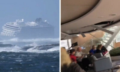 Shocking Videos Of Passengers Thrown Around Cruise Ship After Engines Fail During Storm Go Viral - WORLD OF BUZZ