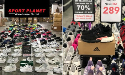 Sports Planet Warehouse Outlet Is Selling Adidas & Puma Shoes From As Low As RM50 This Mar 28 To Apr 7 - WORLD OF BUZZ 1