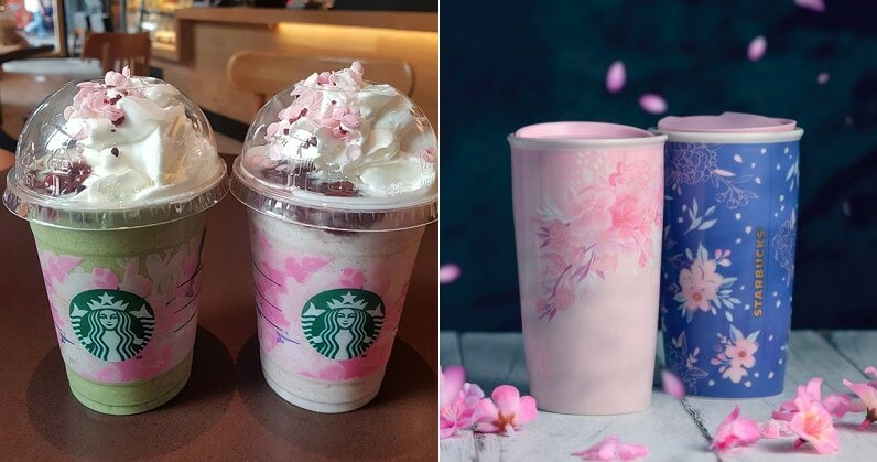Starbucks Is Releasing Cherry Blossom-Inspired Beverages & Merchandises On 26 March 2019 - World Of Buzz 8