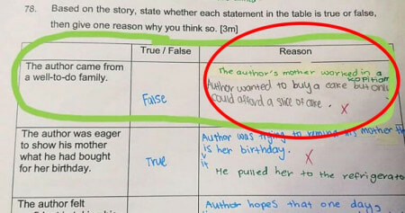 Teacher Under Fire For Exam Answer Implying Hawkers Are Poor - WORLD OF BUZZ 6