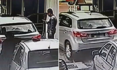 Thief Drives Off with Car in KL Car Wash, Even While Employee Was Cleaning Nearby - WORLD OF BUZZ