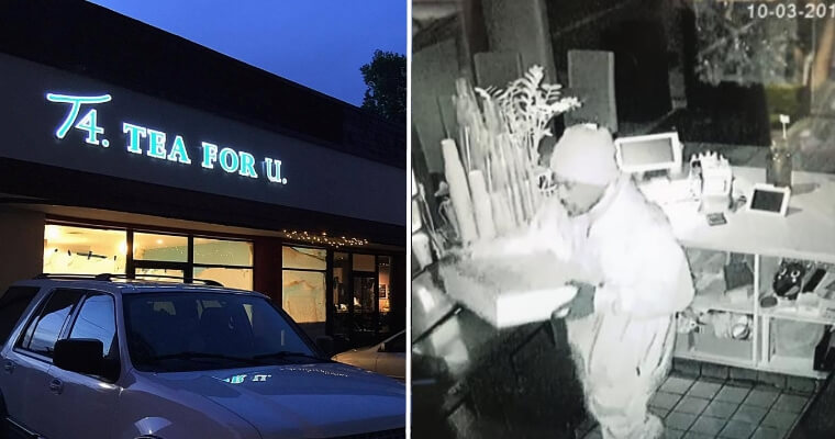 Thief With Boba Cravings Breaks Into Bubble Tea Shop At 3Am To Make Himself A Cup - World Of Buzz 5