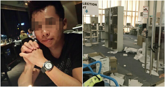 This 23Yo M'sian Got Fired, So He Murdered His Singaporean Employer And Injured A Company Director - World Of Buzz