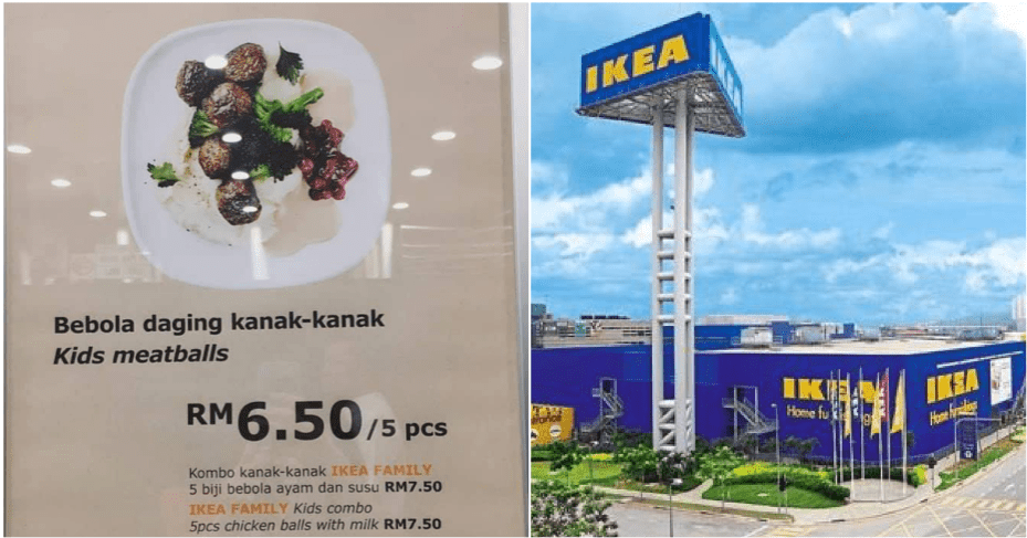 """This IKEA Kid's Menu Poster Is Telling Everyone they can Eat """"Bebola Daging Kanak-Kanak"""" - WORLD OF BUZZ"""