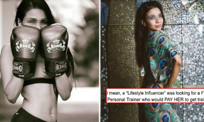 This Influencer Tried To Get A Trainer To Pay Her RM9,031 For The Privilege Of Training Her - WORLD OF BUZZ 4