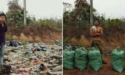 "This Viral #TrashTag Challenge is Getting More People to ""Gotong-Royong"" in Their Communities - WORLD OF BUZZ"