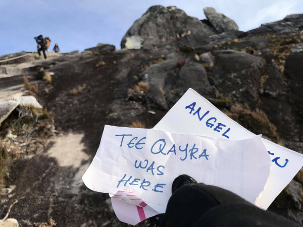 Tourists Leaving Behind Notes With Their Names On Top Of Mount Kinabalu - WORLD OF BUZZ 3
